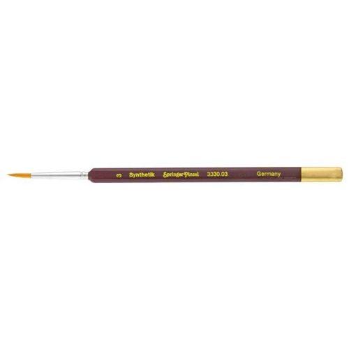 Springer Pinsel Szintetikus Toray 3/0 hegyes végű hobby ecset 3330.3/0