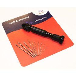 AMAZING ART Mini kézi fúró (Hobby Hand Drill) makettezéshez 5902641614019