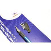 AMAZING ART Precíziós szike makettezéshez (Hobby Knife)