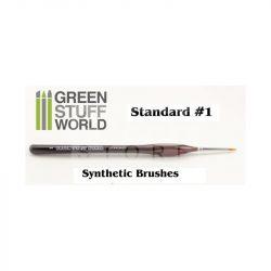 Green Stuff World Brushes Standard 1 Synthetic (Szintetikus hobbi ecset 1)