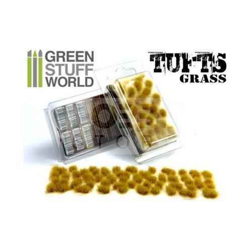 Green Stuff World Grass TUFTS Realisztikus Beige színű fűcsomók diorámához (6 mm self-adhesive - BEIGE)
