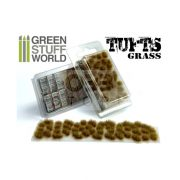 Green Stuff World Grass TUFTS Realisztikus DRY BROWN színű fűcsomók diorámához (6 mm self-adhesive - DRY BROWN)