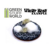 Green Stuff World Grass TUFTS Realisztikus WINTER fűcsomók diorámához (6 mm self-adhesive - WINTER)