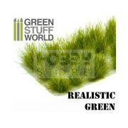 Green Stuff World Grass TUFTS XL Realisztikus fűcsomók diorámához (12mm self-adhesive - REALISTIC GREEN)