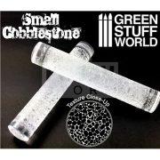 Green Stuff World ROLLING PIN SMALL COBBLESTONE textúrált formázó rúd (macskakő mintájú)