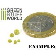 Green Stuff World Silicone molds - RIVETS szilikon formagumi (szegecs-csavar mintájú)
