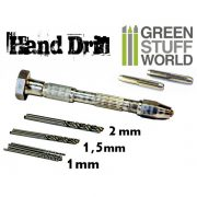 Green Stuff World Hobby kézi fúró (Hobby Hand Drill) 8436554365173ES