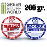 Green Stuff World Magic Sculpt két komponensű tömítő formázó gitt 200g