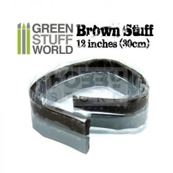 Green Stuff World Brown STUFF (30 cm)  két komponensű tömítő formázó putty 30 cm