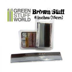 Green Stuff World Brown STUFF két komponensű tömítő formázó putty 15 cm