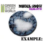 Green Stuff World Realisztikus szórható műhó (REALISTIC Model SNOW Powder 180ml)