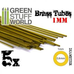 Green Stuff World 1 mm-es rézcső profil