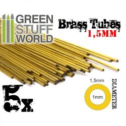 Green Stuff World 1.5 mm-es rézcső profil