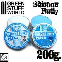 Green Stuff World Blue Silicone Putty 200gr