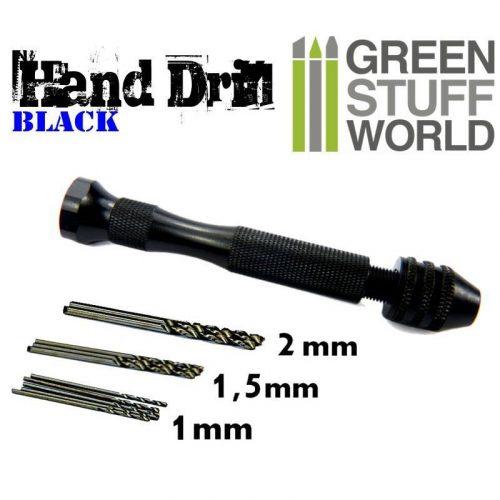 Green Stuff World Hobby kézi fúró (Hobby Hand Drill) 8436554367887ES