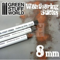 Green Stuff World Weathering Brush (weathering ecset) 8 mm-es
