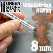 Green Stuff World Weathering Brush (weathering ecset) 8 mm-es