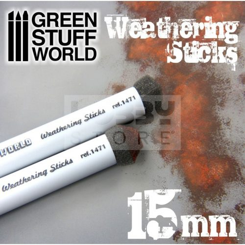 Green Stuff World Weathering Brush (weathering ecset) 15 mm-es