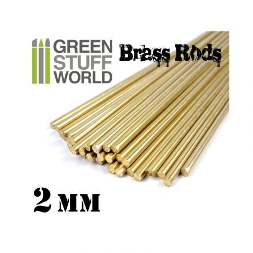 Green Stuff World 2 mm-es réz profil (rúd)