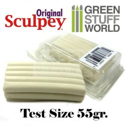 Green Stuff World Super Sculpey White (original) 55 gr süthető formázó gyurma