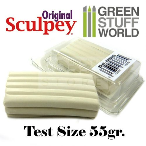 Green Stuff World Super Sculpey White (original) 55 gr süthető formázó gyurma