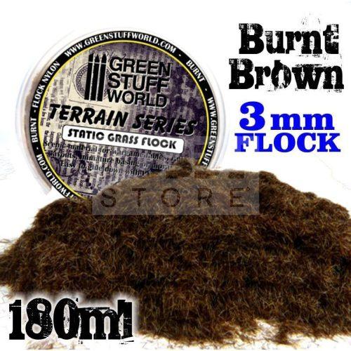 Green Stuff World BURNT 3 mm-es statikus szórható műfű (Static Grass Flock - 3 mm - Burnt - 180 ml)