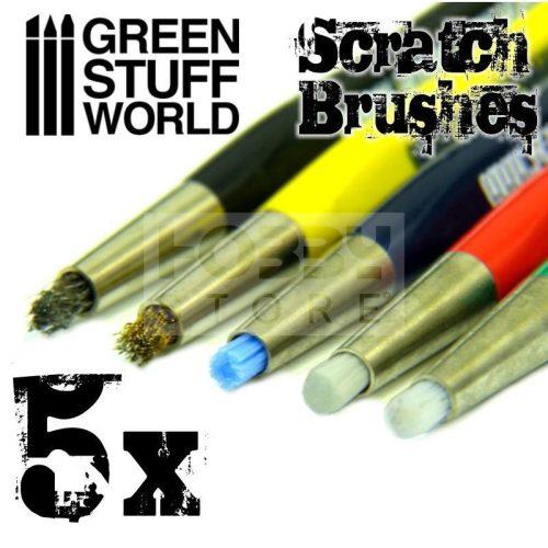 Green Stuff World Scratch Brush Pens (tisztító toll készlet)