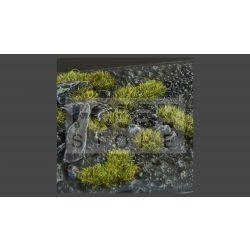 Gamers Grass TUFTS Realisztikus Dark Moss 2mm - Sötét moha színű fűcsomók diorámához (2 mm self-adhesive -Dark Moss)