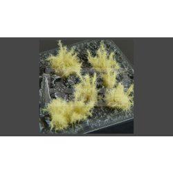 GAMERS GRASS SHRUBS TUFTS Realisztikus bézs színű tüskés bokrok diorámához (12 mm self-adhesive - Spikey Beige)