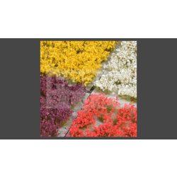 GAMERS GRASS MIXED FLOWER SET - Realisztikus virágcsomó szett diorámához 140 darab (4-6 mm self-adhesive - Mixed Flower Set)