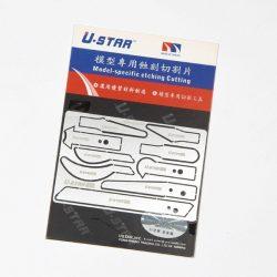 U-STAR Fűrész penge makettezéshez UA80014