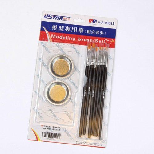U-STAR Festő szett Brush, Palette Kit ( 10 in 1 ) UA90023
