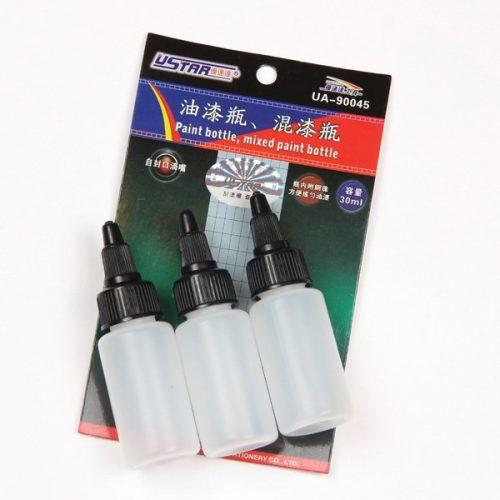 U-STAR Festékkeverő tégely (Paint Mixing Bottle 3 in 1 30ml) UA90045