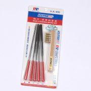 U-STAR Reszelő készlet tisztító kefével (File- Metal Brush Kit 6 in 1) UA90690