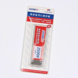 U-STAR 2500-as finomságú csiszolópapír szett Mini Abrasive Paper Kit (50 in 1 #2500) UA91617