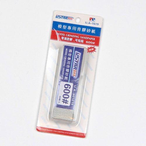 U-STAR 600-as finomságú öntapadó mini csiszoló szett Mini Self-Adhesive Abrasive Paper Kit (40 in 1 #600) UA91619