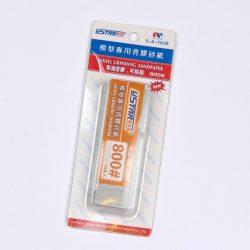 U-STAR 800-as finomságú öntapadó mini csiszoló szett Mini Self-Adhesive Abrasive Paper Kit (40 in 1, #800) UA91620