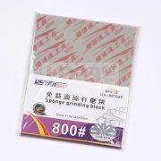 U-STAR 800-as finomságú csiszoló szivacs (Jigsaw Grinding Sponge) UA91627
