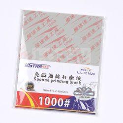 U-STAR 1000-es finomságú csiszoló szivacs (Jigsaw Grinding Sponge) UA91628