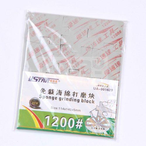 U-STAR 1200-as finomságú csiszoló szivacs (Jigsaw Grinding Sponge) UA91629