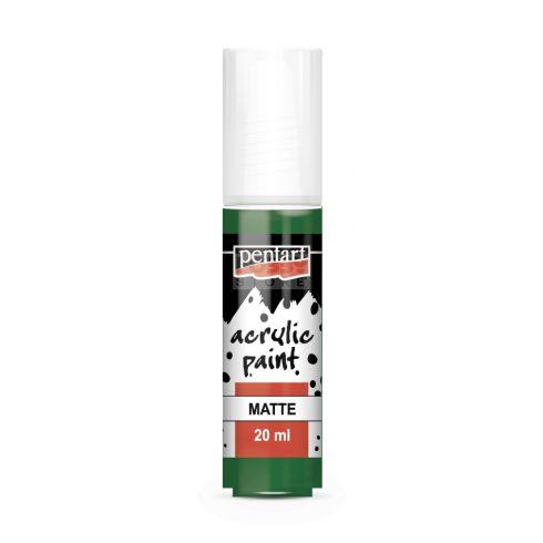 Pentart Matt zöld színű akril bázisú hobbi festék 20 ml 1