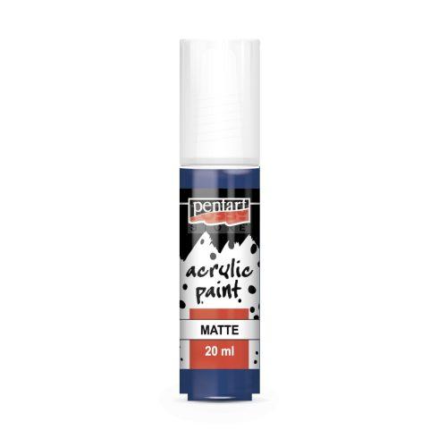 Pentart Matt sötétkék színű akril bázisú hobbi festék 20 ml 1148