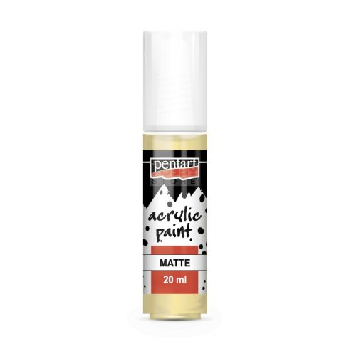 Pentart Matt tejeskávé színű akril bázisú hobbi festék 20 ml 115
