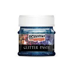 Pentart Glitterpaszta finom llézer sötétkék 50 ml 13053