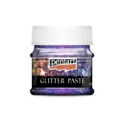 Pentart Glitterpaszta finom llézerlila 50 ml 13055