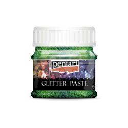 Pentart Glitterpaszta finom lézerzöld 50 ml 13057