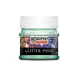 Pentart Glitterpaszta finom lézer világoszöld 50 ml 13058
