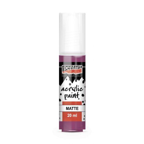 Pentart Matt mályva színű akril bázisú hobbi festék 20 ml 13120