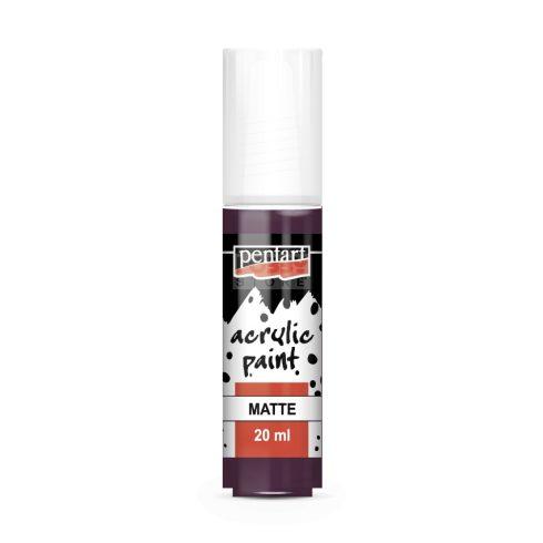 Pentart Matt padlizsán színű akril bázisú hobbi festék 20 ml 13122