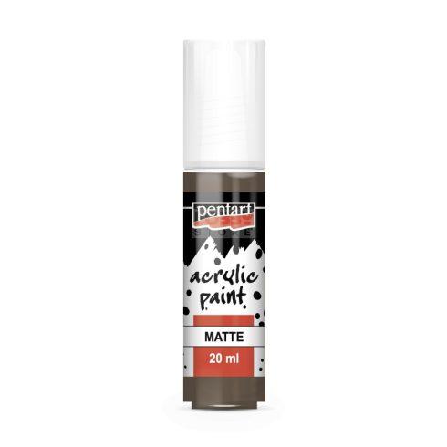 Pentart Matt földbarna színű akril bázisú hobbi festék 20 ml 13123
